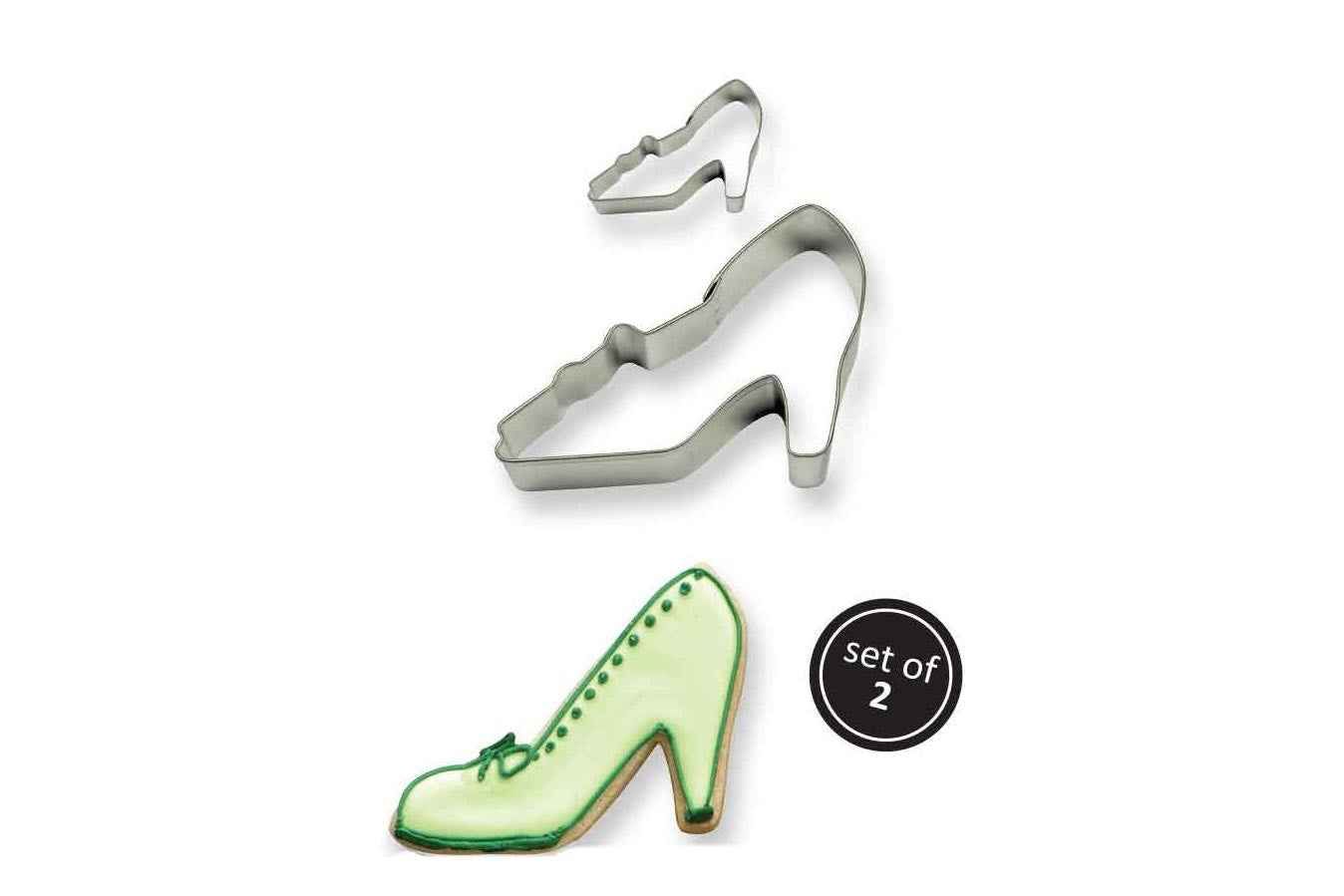 Metal Cookie & Cake Cutter: High Heel