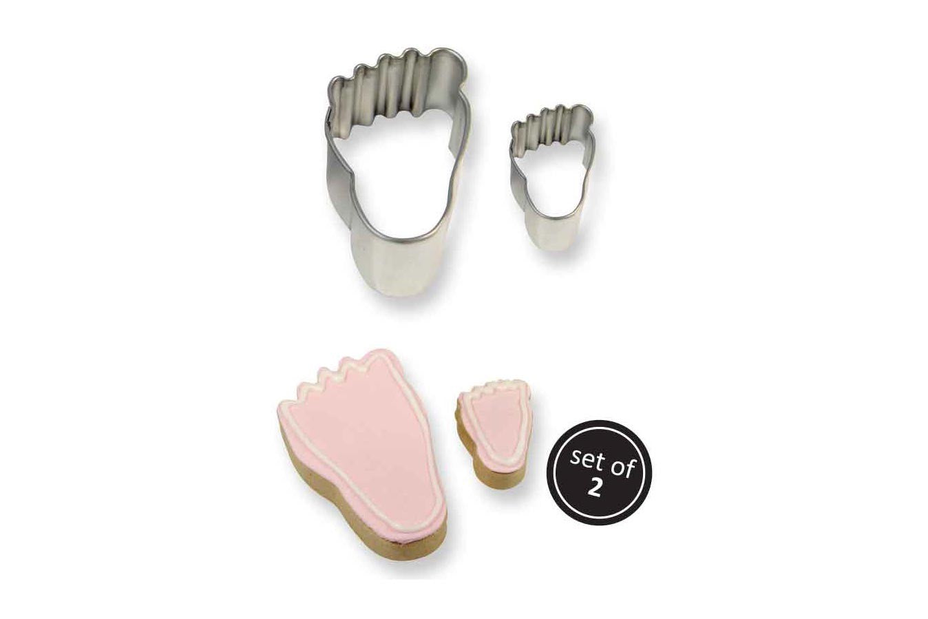 Metal Cookie & Cutter: Foot