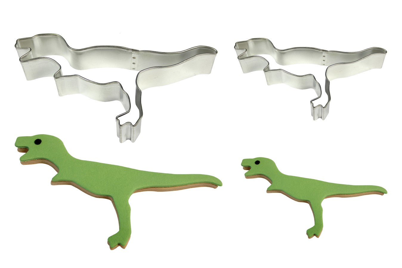 Metal Cookie & Cake Cutter: Dinosaur