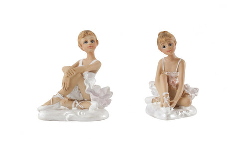 Resin Figure : Ballerina set of 2
