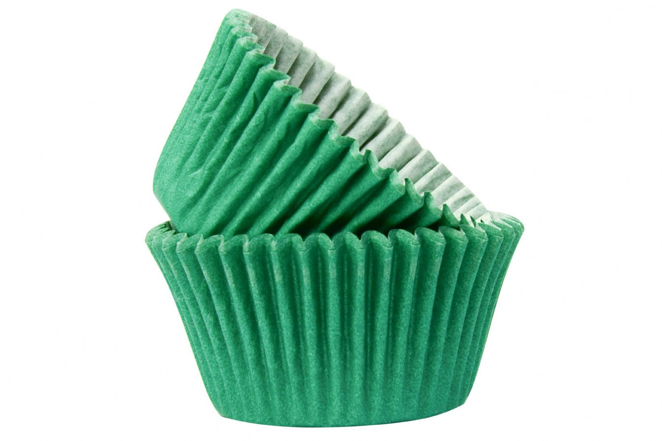 Professional Quality Cupcake Cases: Dark Green 50pk