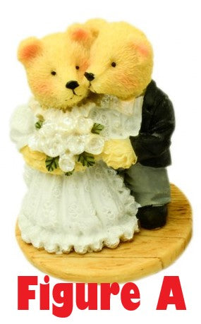 Teddy Bear Bride & Groom 2 Types