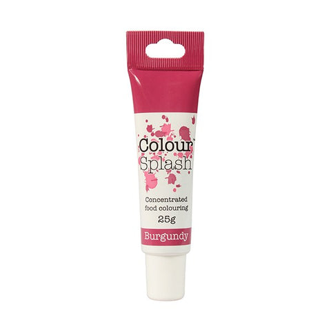 Colour Splash Gel - Burgundy - 25g