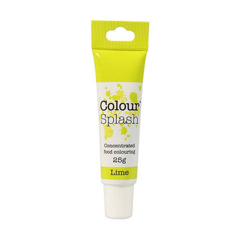 Colour Splash Gel - Lime - 25g
