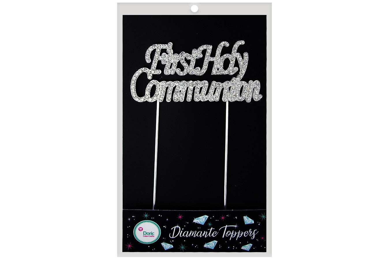 Diamante Topper - First Communion