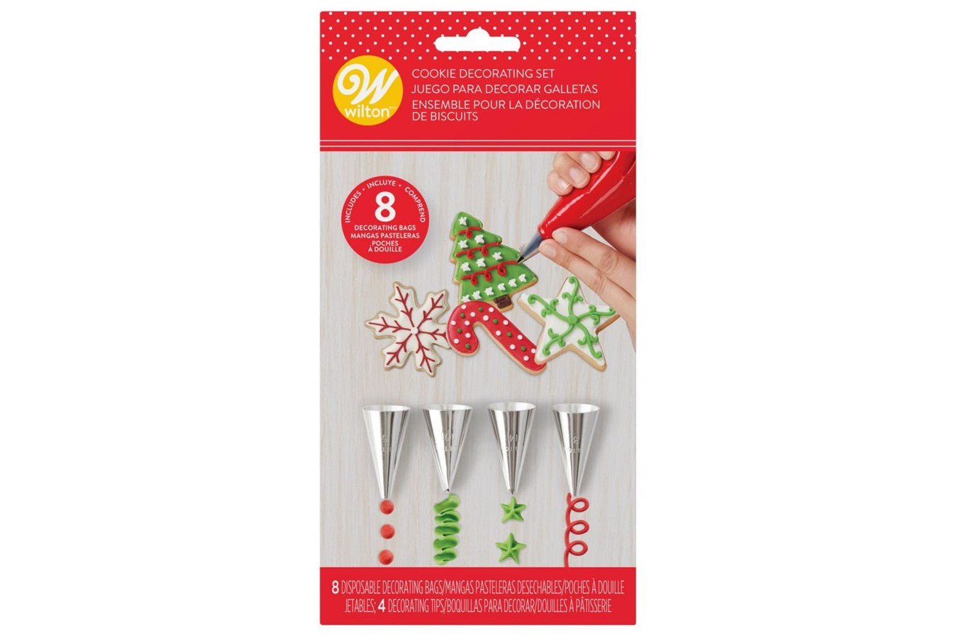 Wilton : Cookie Decorating Set - Set of 12