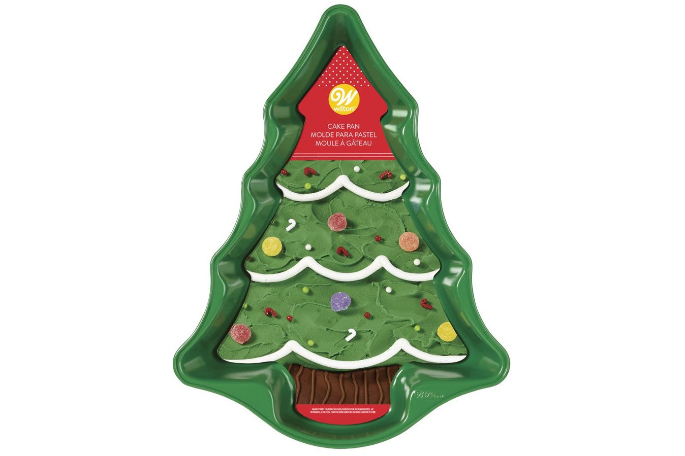 Wilton : Non Stick Christmas Tree Cake Tin