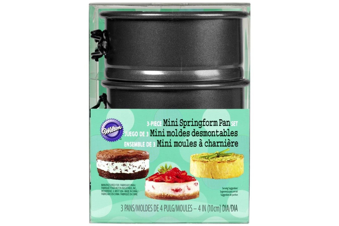Wilton : Mini Springform Tins - Set of 3