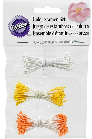 Wilton : Colour Stamen Assortment 180pk