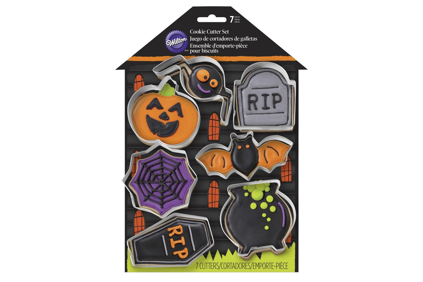 Wilton : Metal Cutter Set - Haunted House - Set of 7