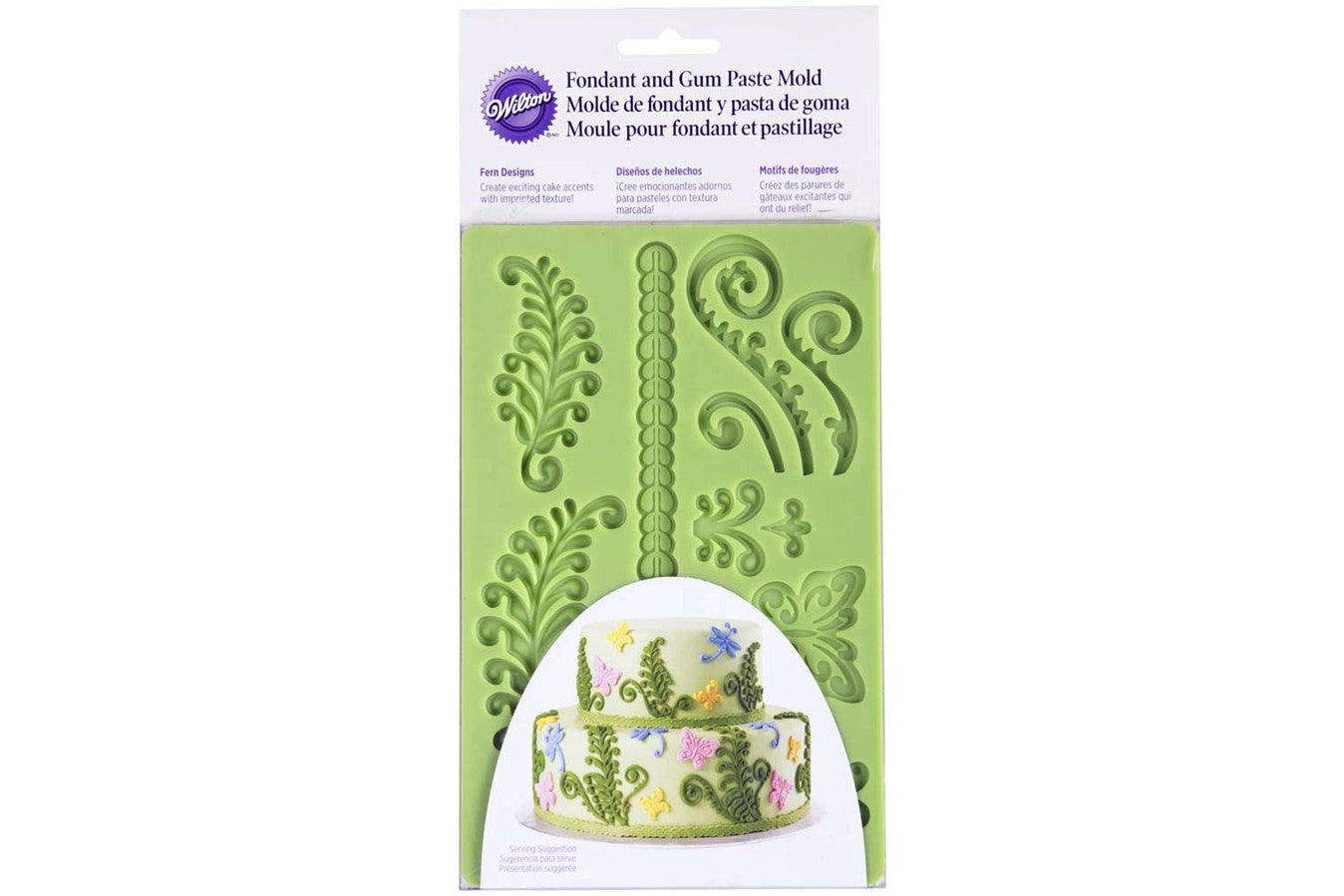 Wilton : Silicone Mould - Fern