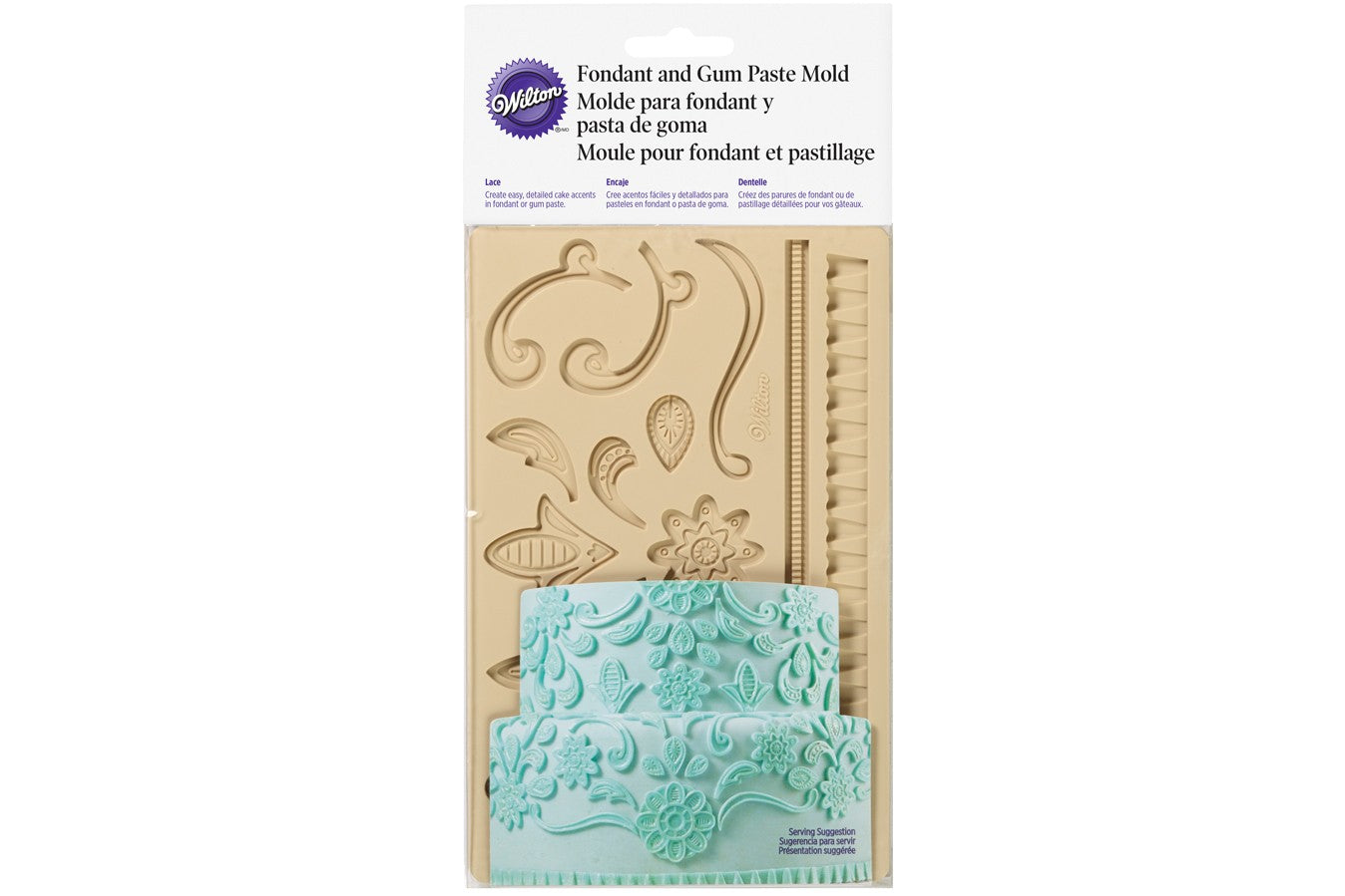 Wilton : Silicone Mould - Lace