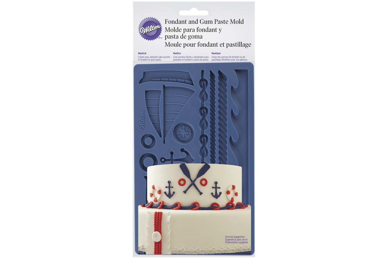 Wilton : Silicone Mould - Nautical