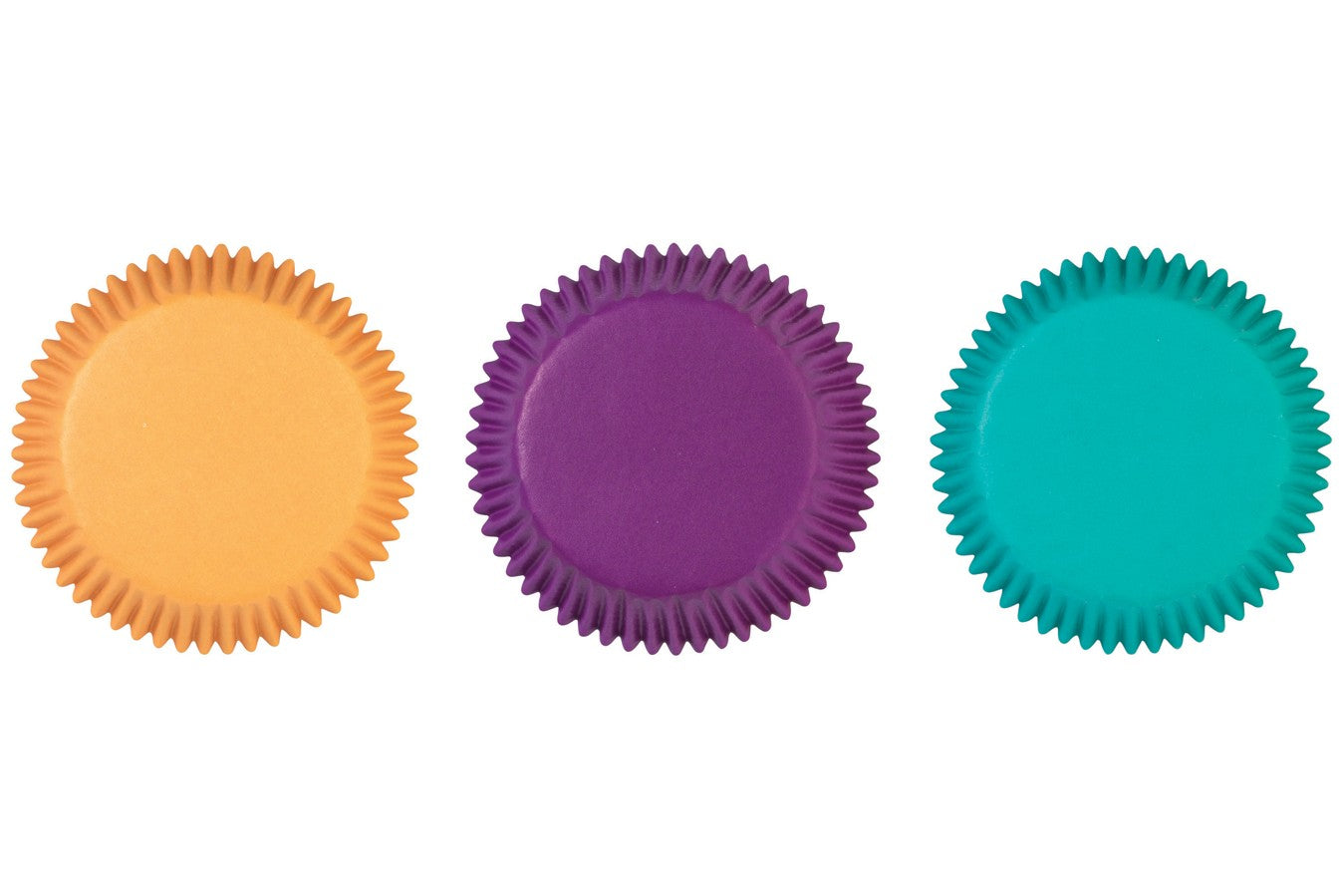 Wilton : Standard Baking Cases - Jewel Colours - Pack of 75