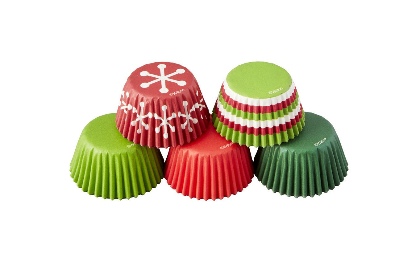 Wilton : Mini Baking Cases - Holiday - Pack of 150