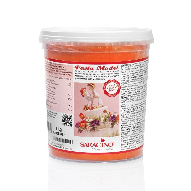 Saracino Modelling Paste - Orange 1kg