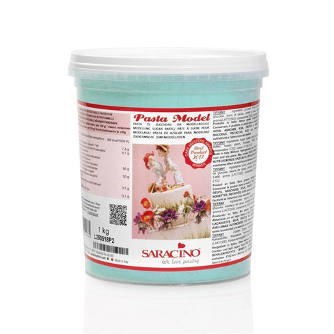 Saracino Modelling Paste - Tiffany Blue 1kg