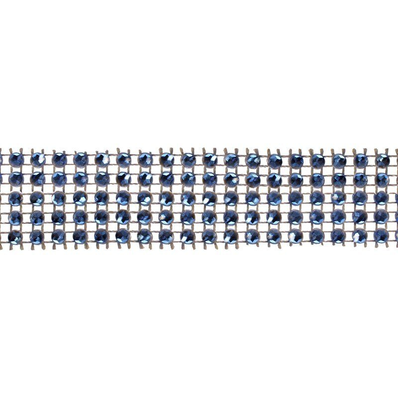 Blue Diamante Trim 25mm - Large 5m - Bakeworld.ie