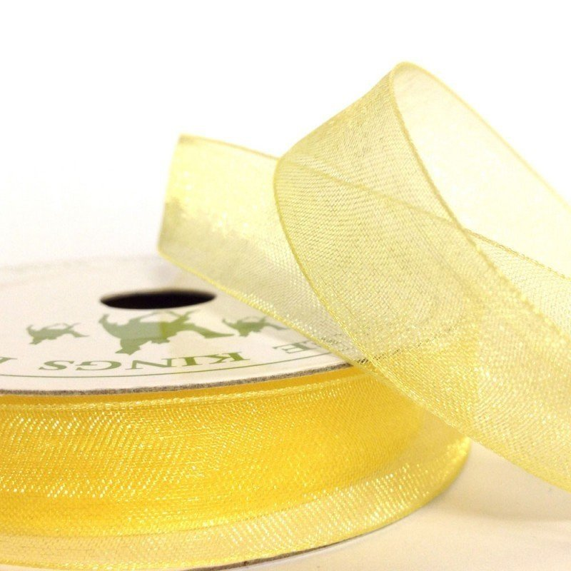 15mm Organza Baby Maise 10 Metre roll - Bakeworld.ie
