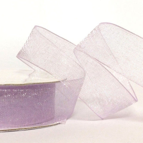 15mm Organza Orchid 10 Metre roll - Bakeworld.ie