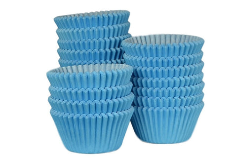 Professional Muffin Cases - Sky Blue 500pk