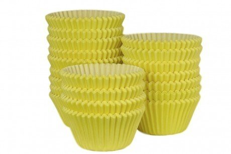 Professional Muffin Cases - Yellow 500pk