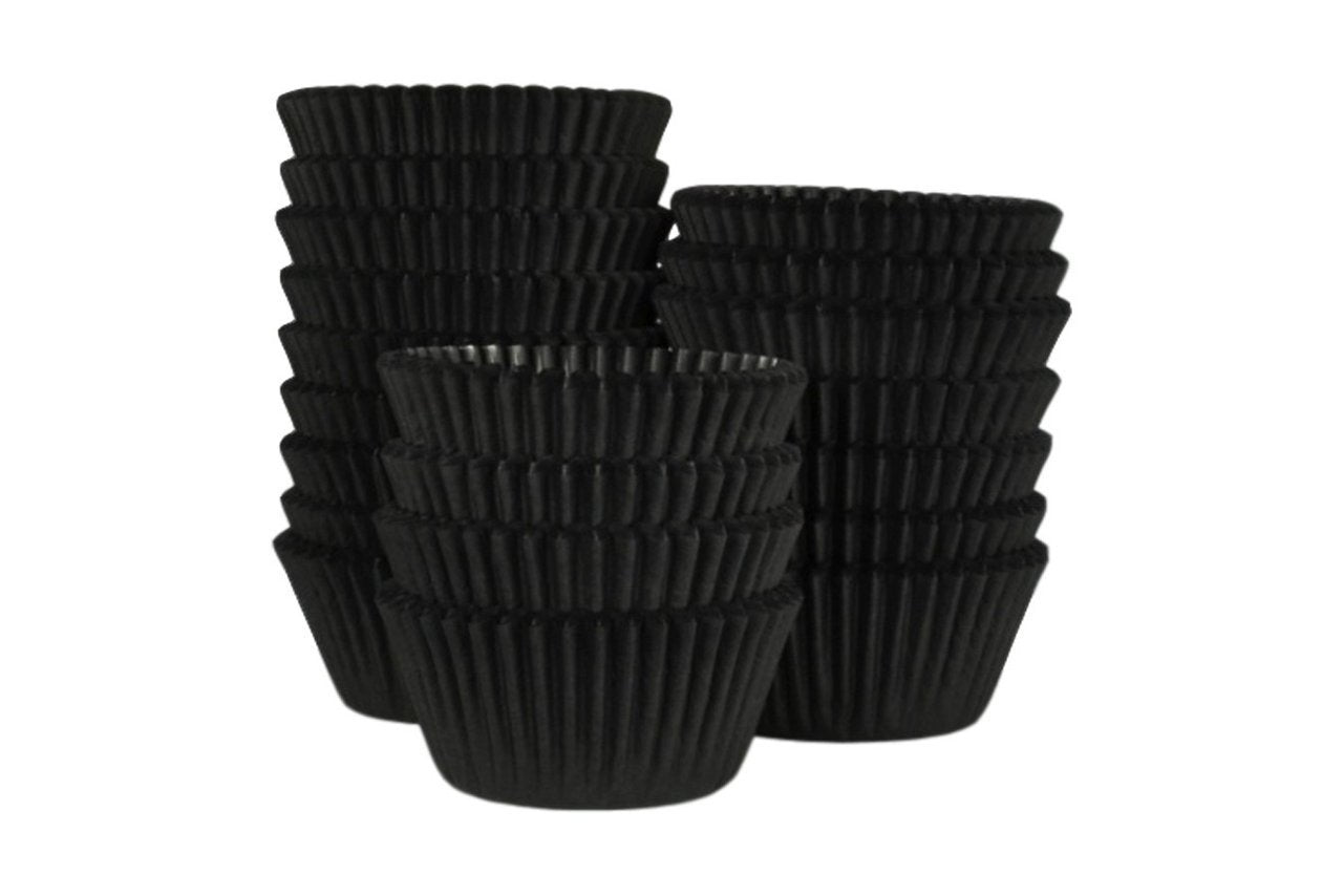 Professional Muffin Cases - Black 500pk