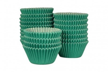 Professional Muffin Cases - Green 500pk