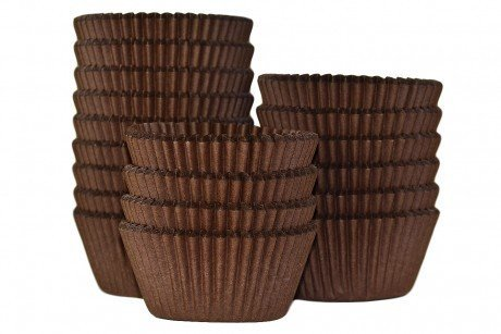 Professional Muffin Cases - Brown 500pk