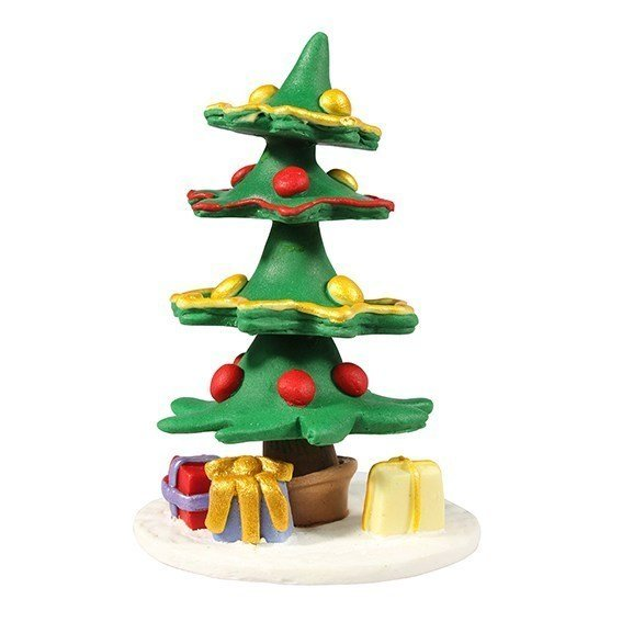 Cake Star Christmas Topper - Decorated Tree - Bakeworld.ie
