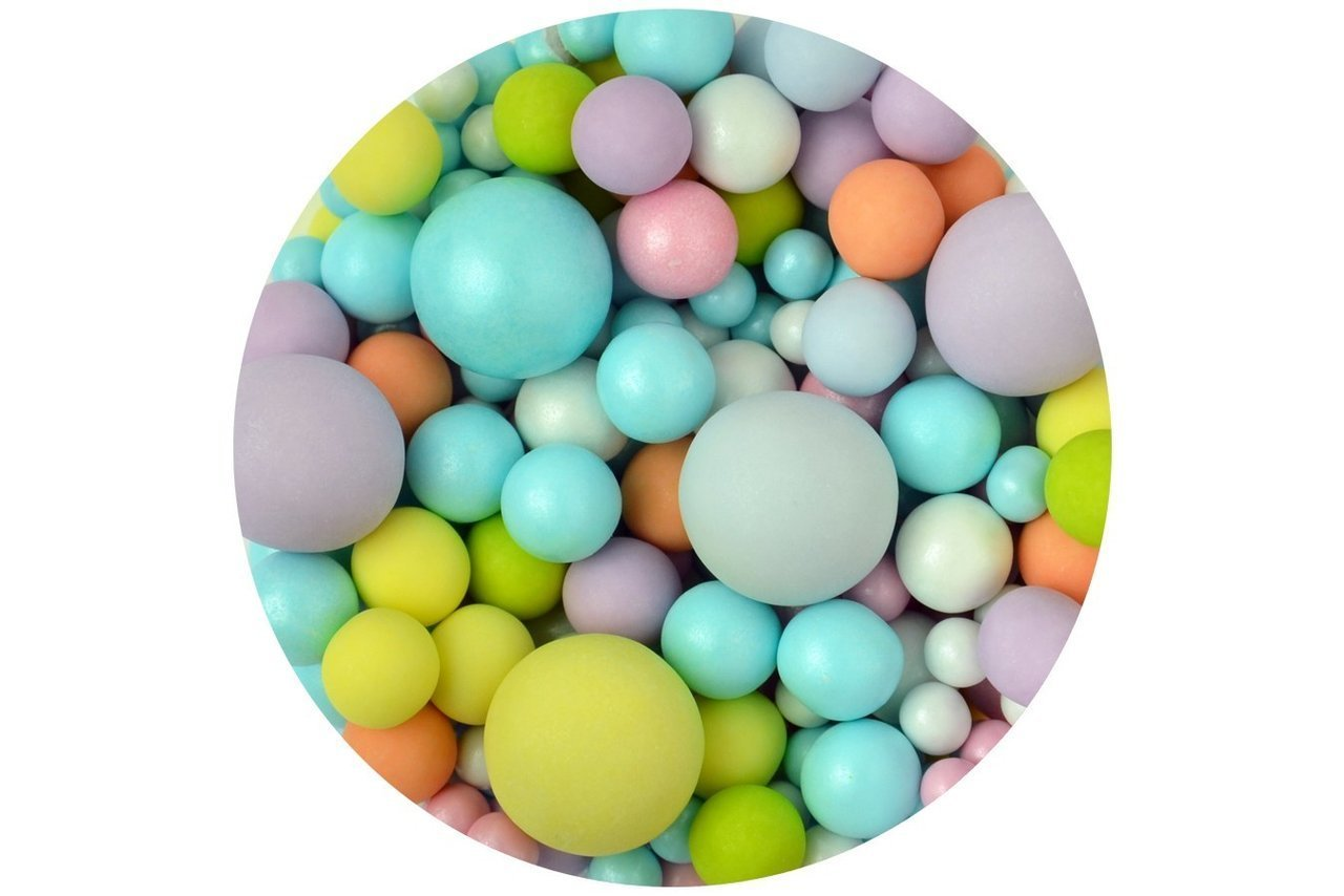 Sprinkletti Bubbles: Multi Coloured 100g