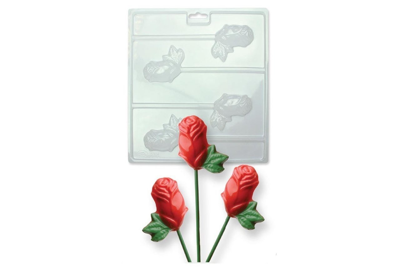 Chocolate Mould: Roses - Bakeworld.ie