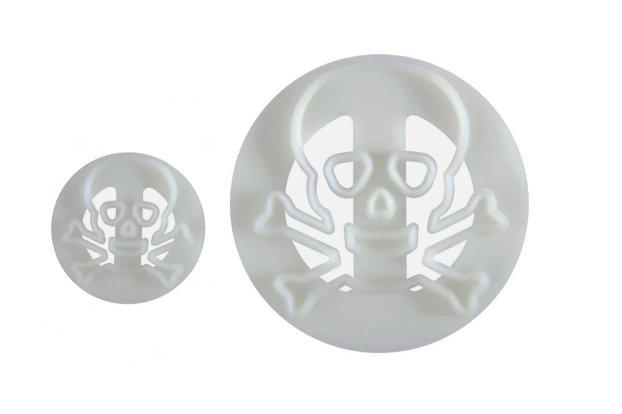 Skull & Crossbones Cutter set of 2