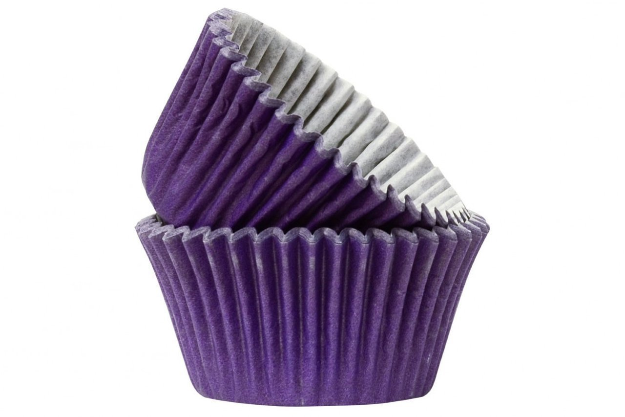 Professional Quality Cupcake Cases: Purple 50pk