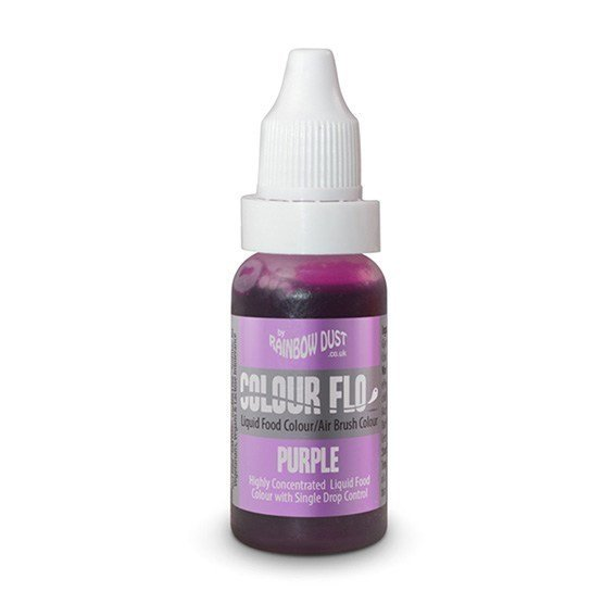 Rainbow Dust Colour Flo - Purple
