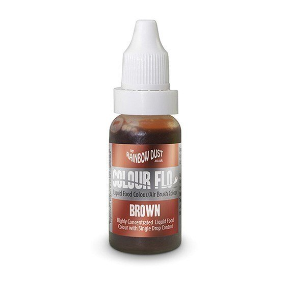 Rainbow Dust Colour Flo - Brown
