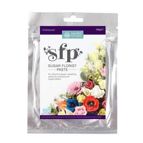 Squires Sugar Florist Paste (SFP) Violet (Purple)