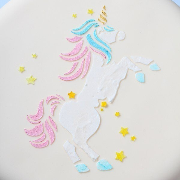 Cake Star Unicorn Stencil - Bakeworld.ie