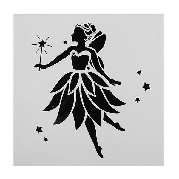 Cake Star Fairy Stencil - Bakeworld.ie