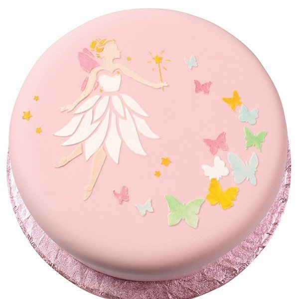 Cake Star Butterfly Stencil - Bakeworld.ie
