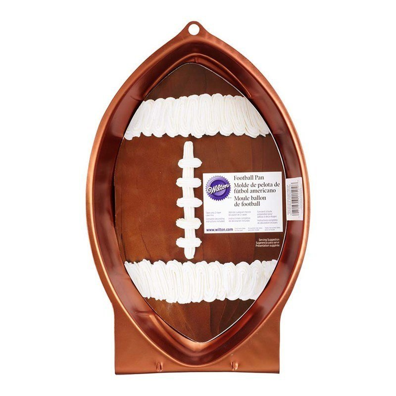 Rugby Ball Cake Tin (half-ball) - by Wilton