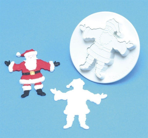 PME Father Chrismas Embossed Cutter
