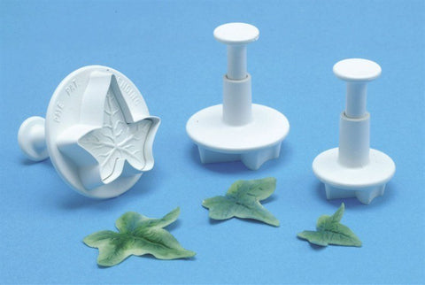 PME 3 Set Veined Ivy Leaf Plunger
