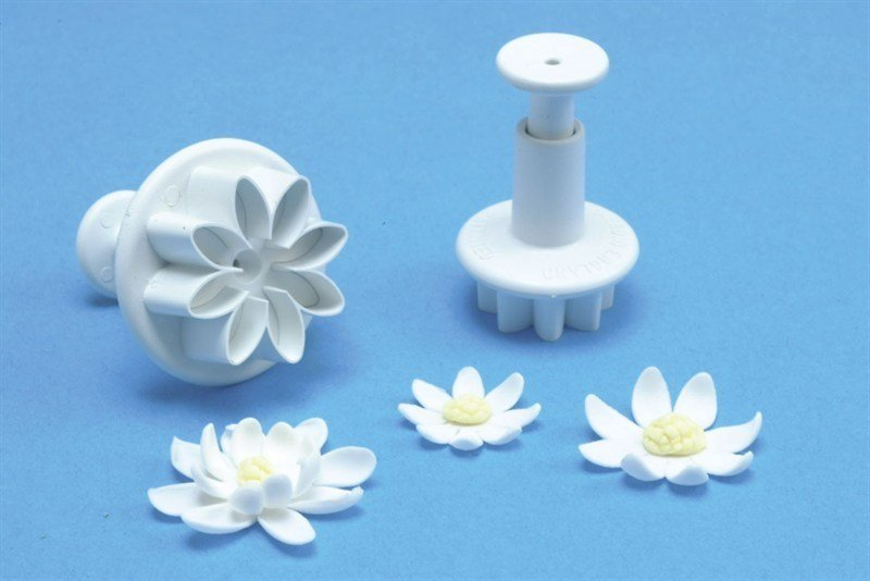 4 Set Daisy Marguerite Plunger - Bakeworld.ie