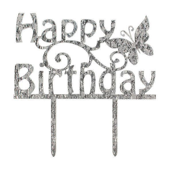 Cake Star Happy Birthday Cake Topper - Bakeworld.ie