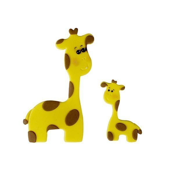 FMM Giraffe Mummy & Baby Cutters - Set of 2