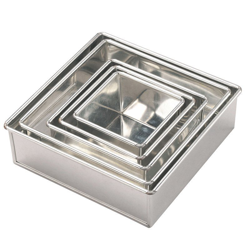 Invicta Square Cake Tin 127mm (5'')
