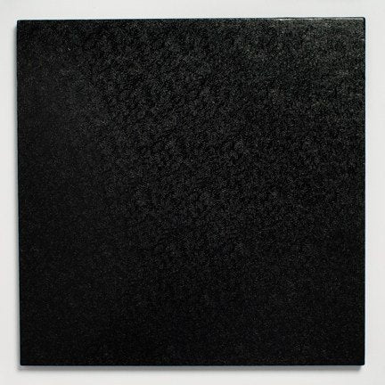 12'' (304mm) Cake Board square Black - Bakeworld.ie