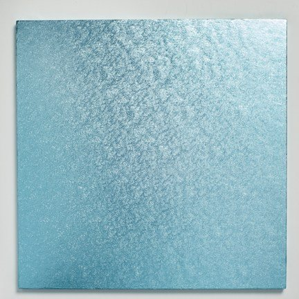 12'' (304mm) Cake Board Square Baby Blue - Bakeworld.ie