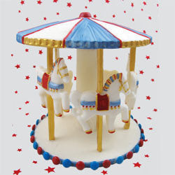 3D Carousel 3 set mould - Bakeworld.ie